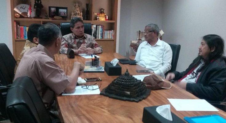 Wali Kota Tidore Dan Kemenko Maritim Bahas Persiapan
