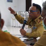 Sekprov pimpin Rapat terkait Penamaan Kodefikasi Lima Desa di Halbar