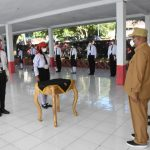 Pembukaan Diklat Paskibraka Kota Tidore Kepulauan Tahun 2021