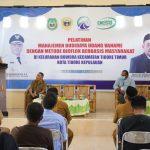 Walikota Tidore Resmikan Pelatihan Manajemen Budidaya Udang Vaname
