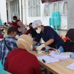 Peringati 31 Tahun Akabri,  Polda Papua Barat Gelar Vaksinasi dan Bakso